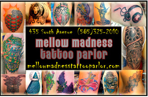 Mellow Madness Tattoo Parlor